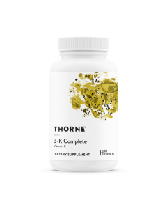 3-K Complete Vitamin K 60 Capsules Thorne Research