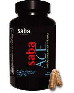 SABA Ace Weight Management & Energy Formula 60 Capsules