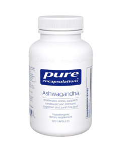 Ashwagandha 500 mg 120 Capsules Pure Encapsulation