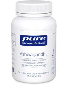 Ashwagandha by Pure Encapsulations 60 caps
