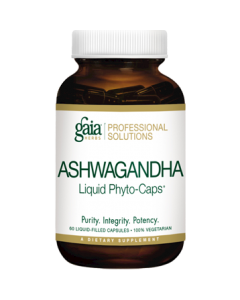 Ashwagandha Liquid Phyto-Caps 60 caps Gaia Herbs