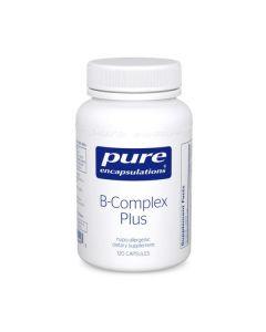 B-Complex Plus 120 Capsules Pure Encapsulations