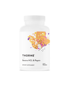Betaine HCL & Pepsin 225 Capsules Thorne Research