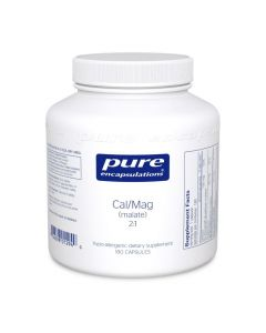 Calcium Magnesium (malate) 2:1 180's Pure Encapsulation
