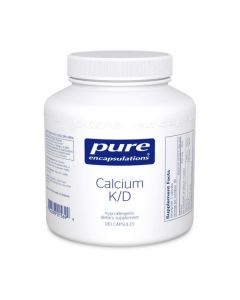 Calcium K/D 180 Capsules Pure Encapsulations