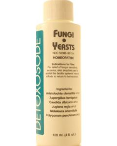 Detoxosode Fungi & Yeast 4 oz