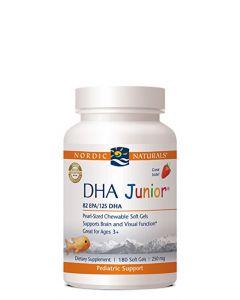Nordic Naturals DHA Junior 180 soft gels 250 mg each