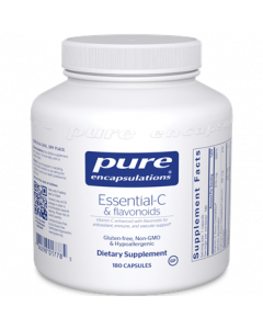 Essential- C & Flavonoids 180 Capsules Pure Encapsulations