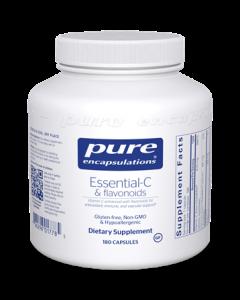 Essential- C & Flavonoids 180 Capsules Pure Encapsulations
