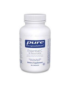 Essential-C & Flavnoids 90 Capsules Pure Encapsulations