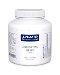 Glucosamine Sulfate 1,000 mg 180 caps Pure Encapsulations