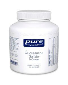 Glucosamine Sulfate 1,000 mg 180 caps Pure Encapsulations