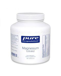 Magnesium (citrate) 180 Capsules Pure Encapsulations