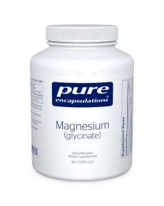 Magnesium (glycinate) 360 Capsules Pure Encapsulation