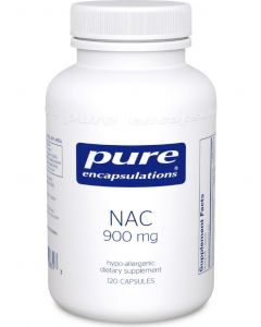 NAC (n-acetyl-l-cysteine) 900 mg 120 Capsules Pure Encapsulations