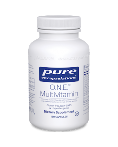 O.N.E. Multivitamin 60 Capsules Pure Encapsulations