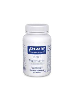 O.N.E. Multivitamin 60 Capsules Pure Encapsulations