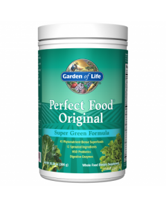 Garden of Life Perfect Food Original  Blue Label 300g Powder