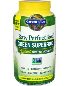 Garden of Life Perfect Food Raw 240 caps