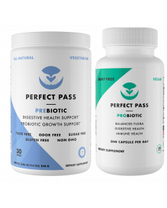 Perfect Pass Prebiotic and Probiotic Combo Pack