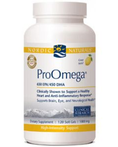 Nordic Naturals ProOmega 120 soft gels 1000 mg each