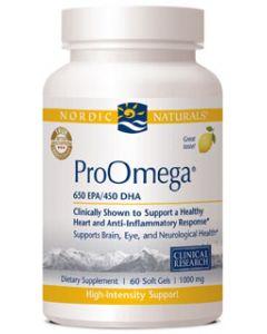 Nordic Naturals ProOmega 60 soft gels 1000 mg each