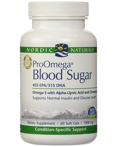 Nordic Naturals ProOmega Blood Sugar 60 Soft Gels 1000mg
