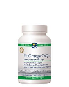 Nordic Naturals ProOmega CoQ10 60 soft gels 1000 mg each