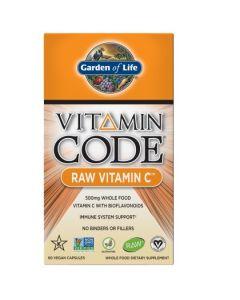 Garden of Life Vitamin C Raw 60 caps