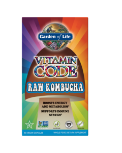 Garden of Life Kombucha Raw Vitamin Code 60 caps