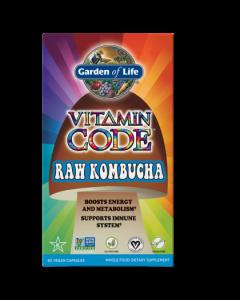 Garden of Life Kombucha Raw Vitamin Code 60 caps