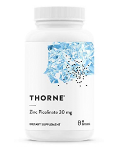 Zinc Picolinate 30 mg 60 capsules Thorne Research