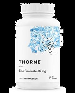 Zinc Picolinate 30 mg 60 capsules Thorne Research