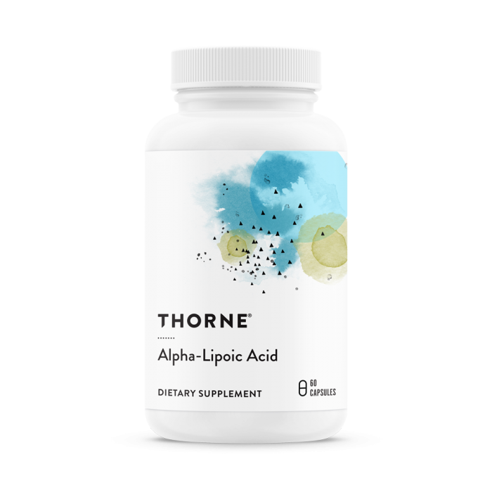 Alpha Lipoic Acid 60 Capsules Thorne Research