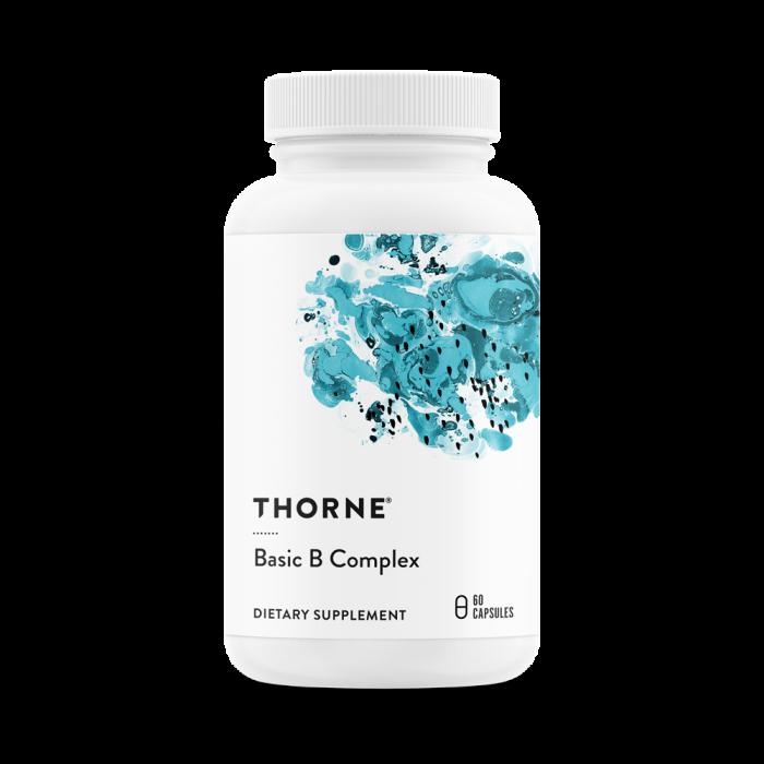 Basic B Complex 60 Capsules Thorne Research