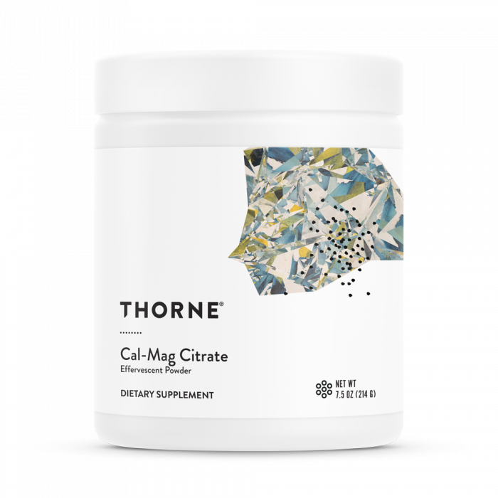 Cal-Mag Citrate 7.5 oz (214 g) Thorne Research