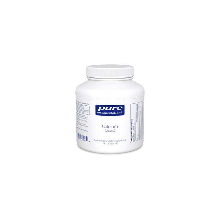 Calcium (Citrate) 180 Capsules Pure Encapsulations