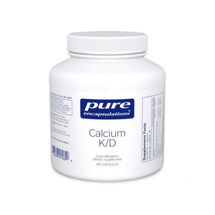 Calcium K/D 180 Capsules Pure Encapsulations