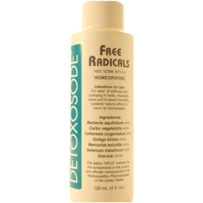 Detoxosode Free Radicals 4 oz