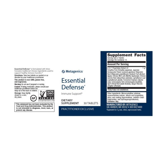 Essential Defense 30 tablets by Metagenics