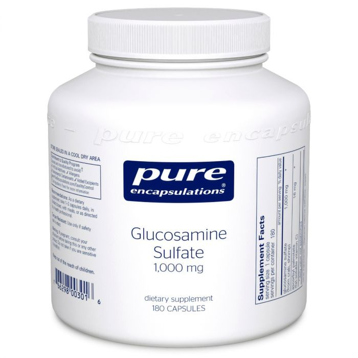 Glucosamine Sulfate 1,000mg 180 caps pure encapsulations