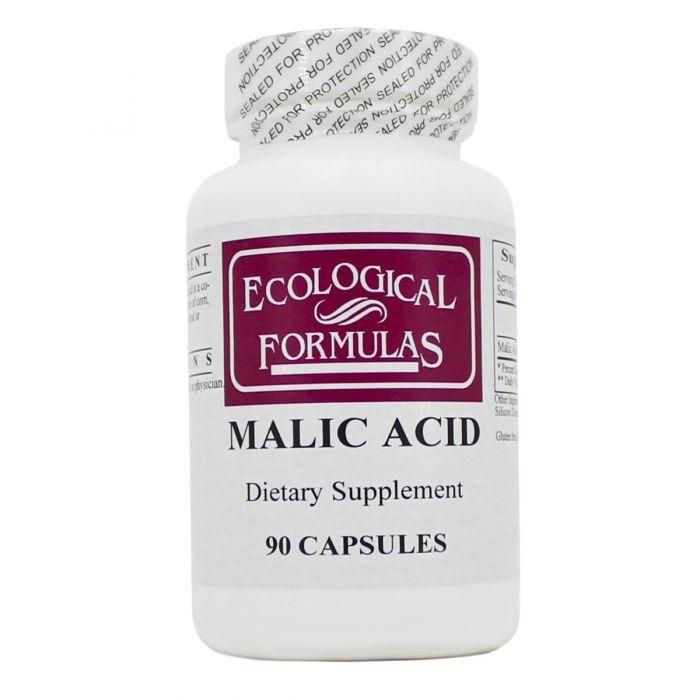 Malic Acid 600 mg 90 caps Ecological Formulas