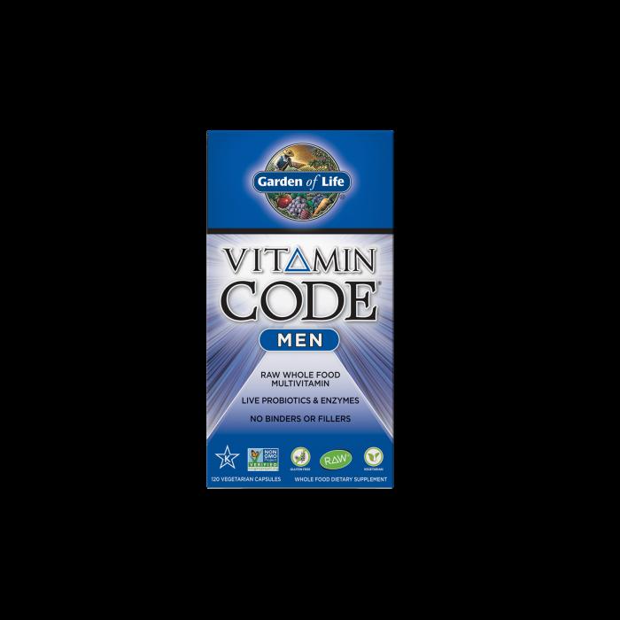 Garden of Life Vitamin Code Men 120 vcaps