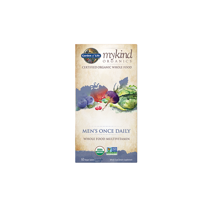 MyKind Organics Men's Once Daily 60 Vegan Tablets