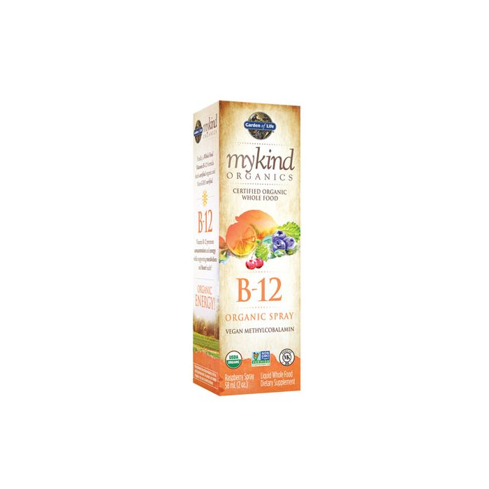 mykind Organics B12 Spray 2 oz Garden of Life