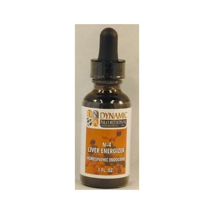 N-4 Liver Energizer Homeopathic by DNA Labs