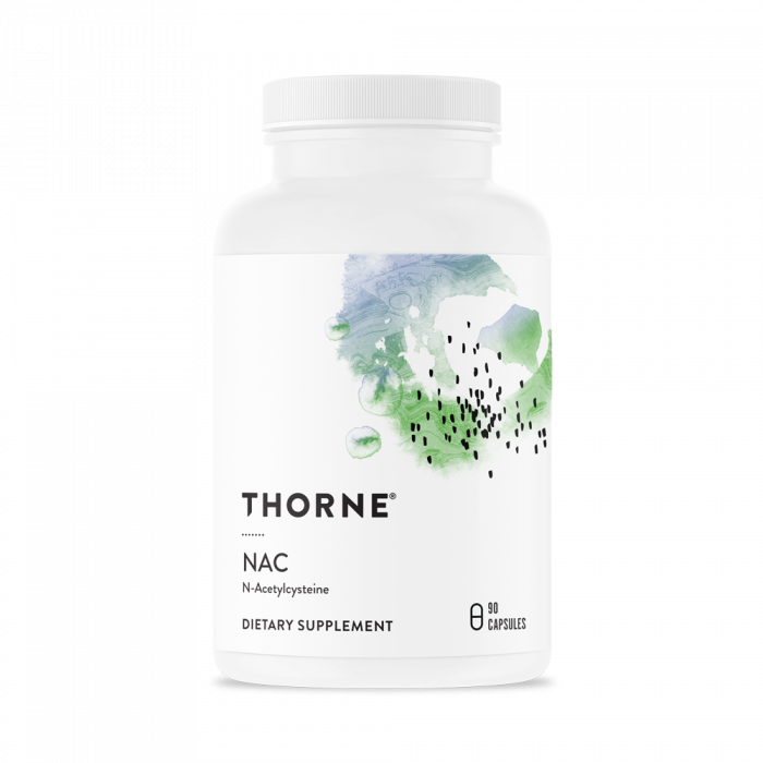 NAC - N-Acetylcysteine 90 Capsules Thorne Research
