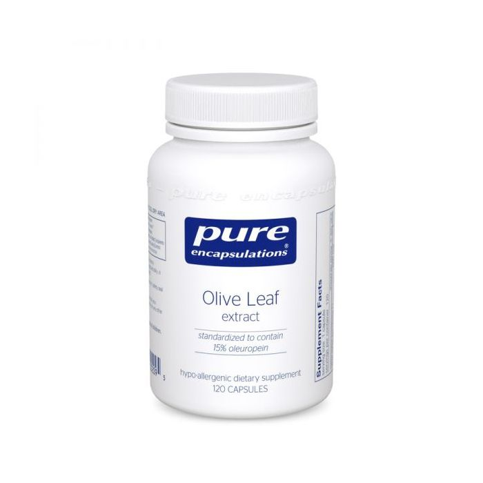 Olive Leaf Extract 500 mg 120 Capsules Pure Encapsulations