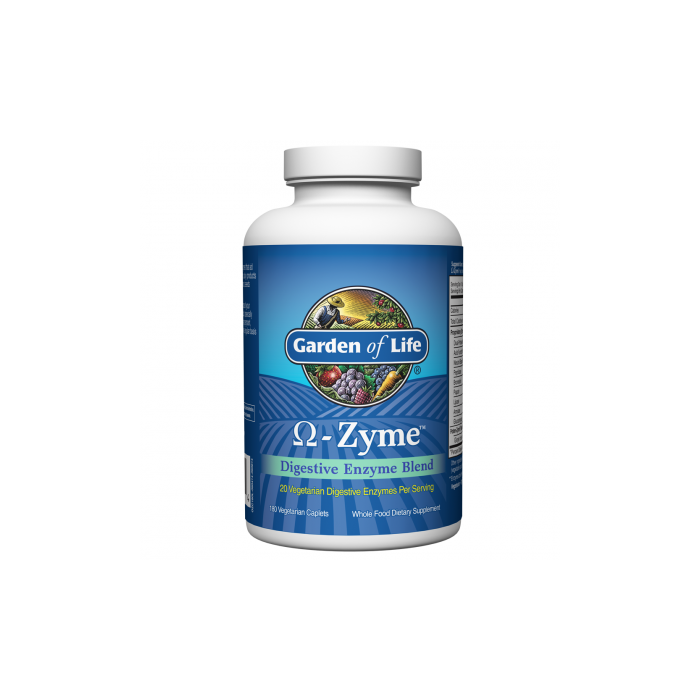 Garden of Life OmegaZyme Digestive Enzymes 180 caps