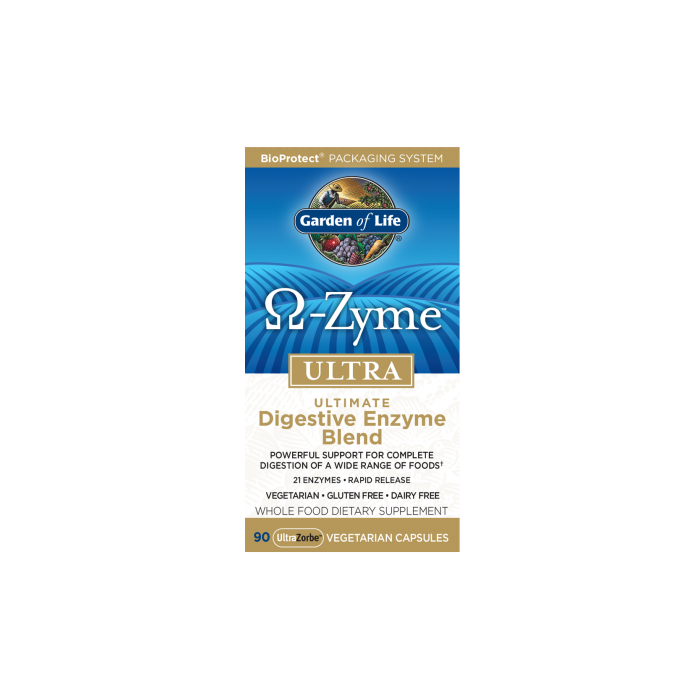 OmegaZyme Ultra  Digestive Enzymes 90 caps